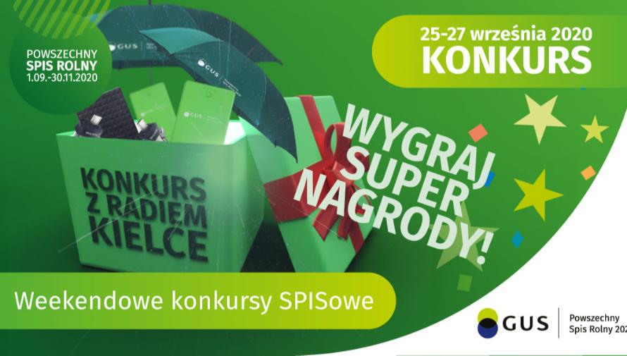Konkurs z cyklu Weekendowe konkursy SPISowe